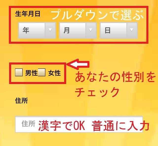 エンパイア777登録方法3